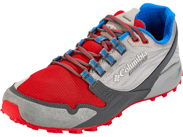 Columbia Alpine FTG Shoes Men monument/bright red
